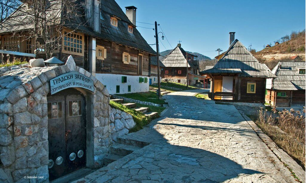 Drvengrad, Mećavnik