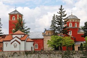 žiča orthodox monastery in Sebia
