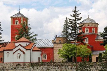 žoča orthodox monastery in Sebia