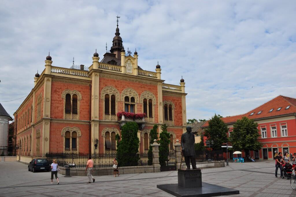 Bishop's Palace in Novi Sad