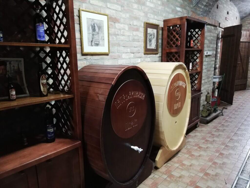 Wine Cellars in Sremski Karlovci